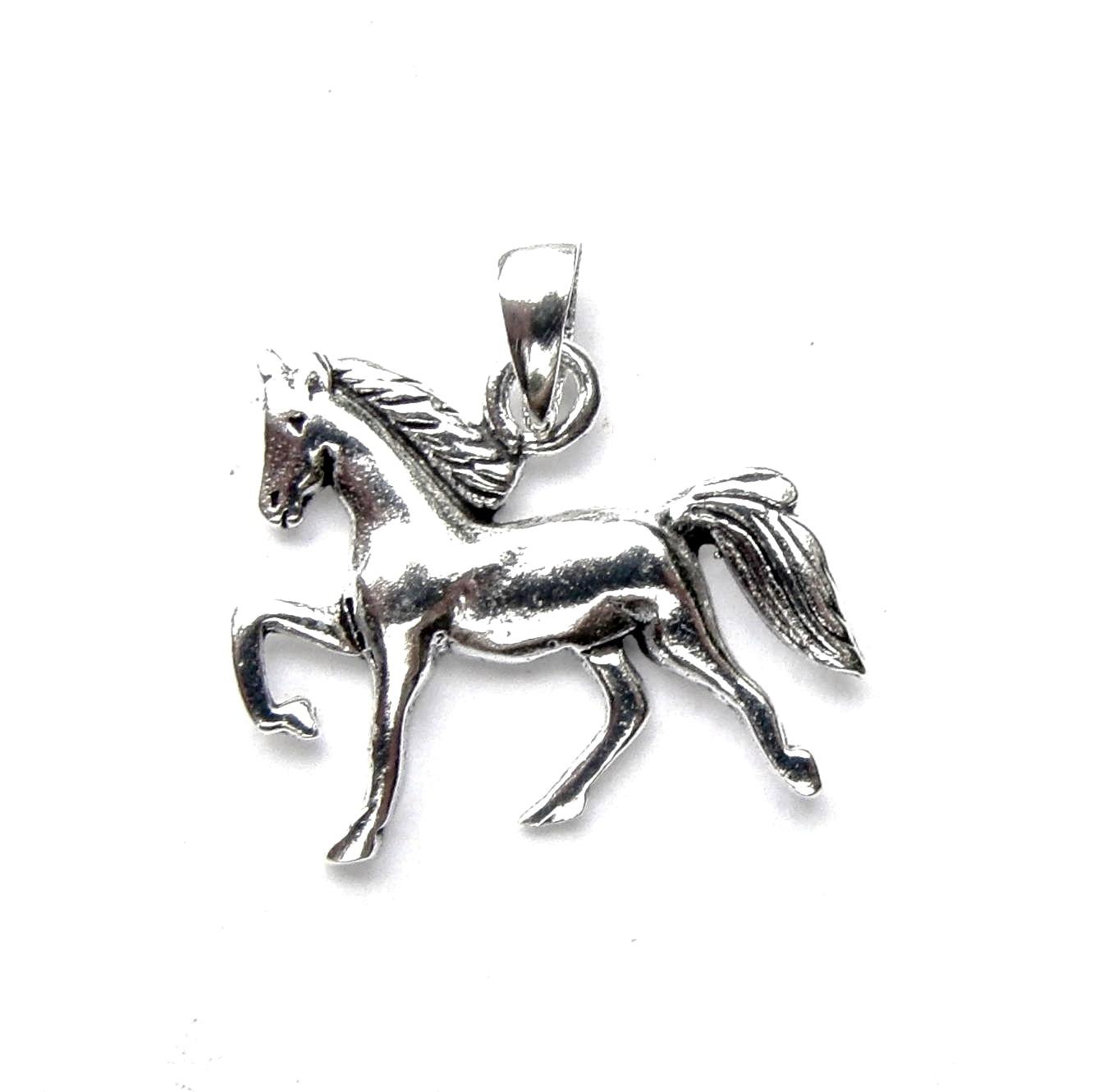 Beautiful Silver Horse Pendant