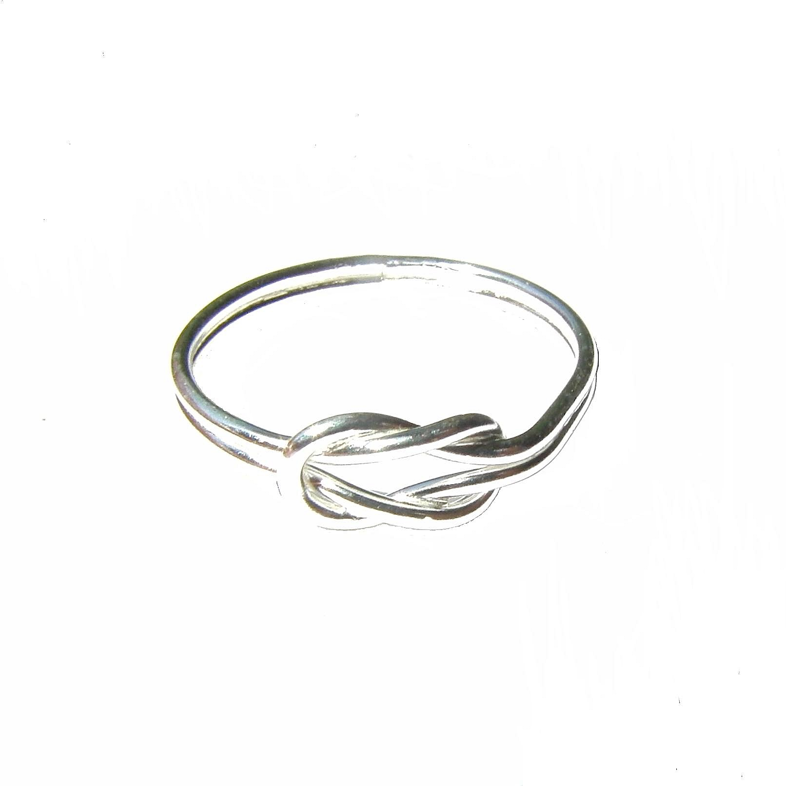 Beautiful Silver Knot Ring