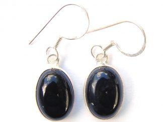 Black Onyx Large Earrings