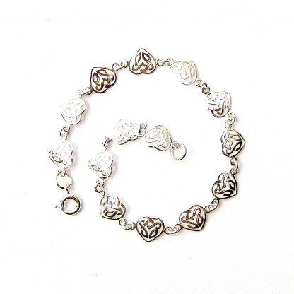 Beautiful Filigree Heart Bracelet