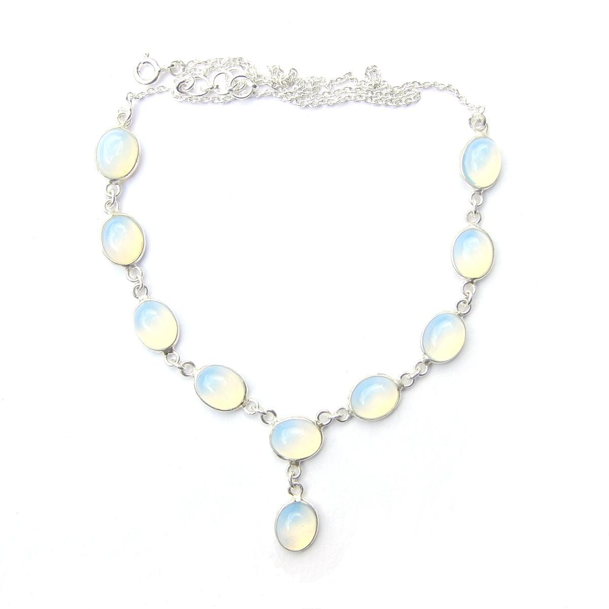 Opalite Large Oval Necklace