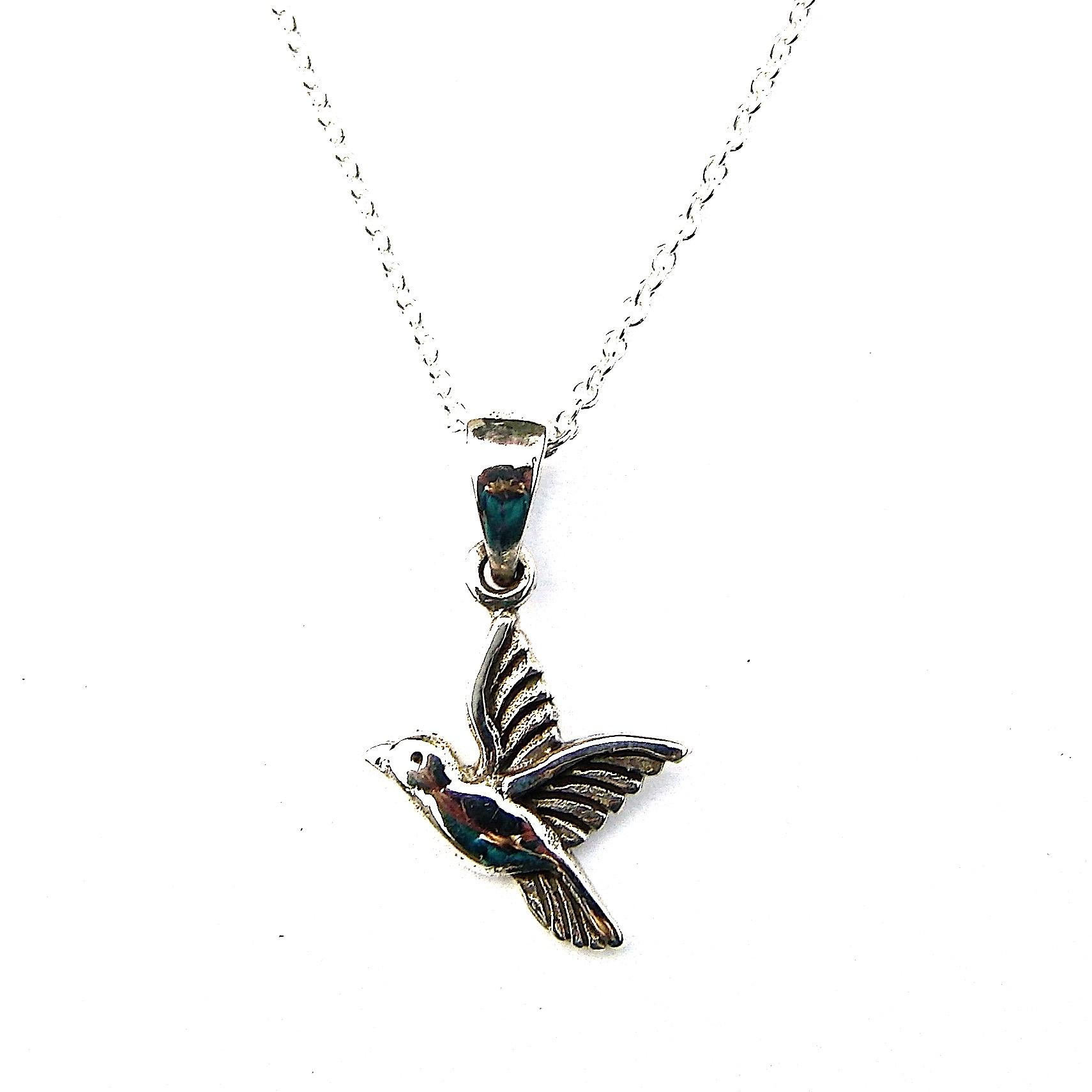 Pretty Humming Bird Necklace