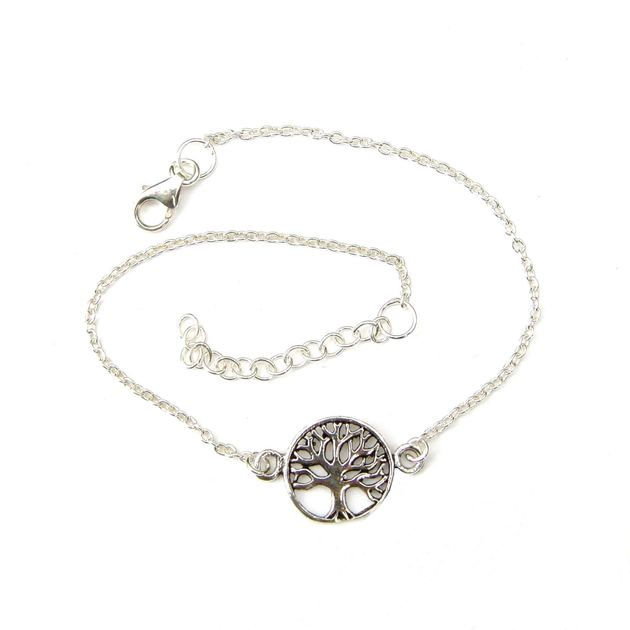 Beautiful Silver Tree of Life Bracelet